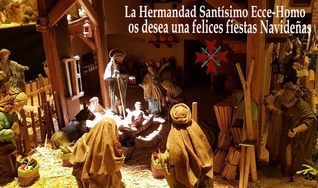 La Hermandad Santisimo Ecce-Homo os desea Felices Fiestas